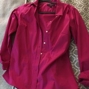 """Banana Republic """"no iron"""" dress shirt size 8"""